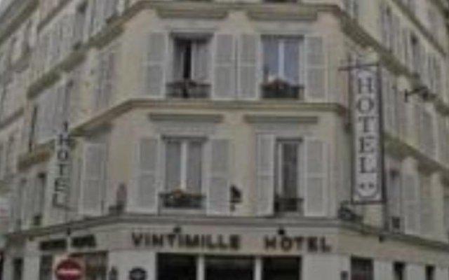 Отель VINTIMILLE Париж вид на фасад