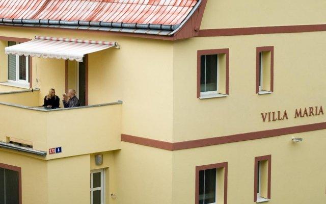 Отель Pension Villa Maria вид на фасад