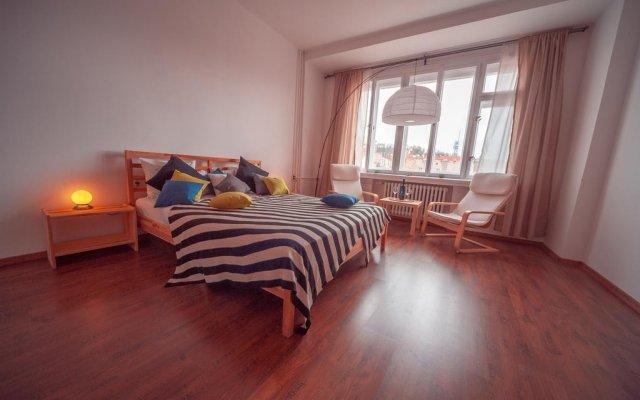 Апартаменты Downtown Studio Sokolovská комната для гостей