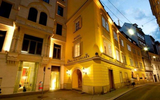 Hotel König von Ungarn вид на фасад