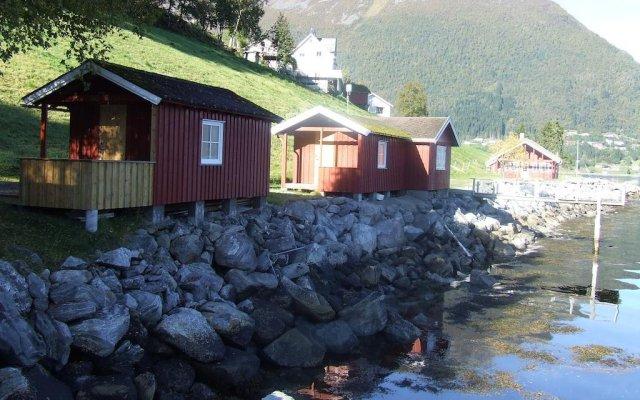 Отель Hustadnes Fjordhytter балкон