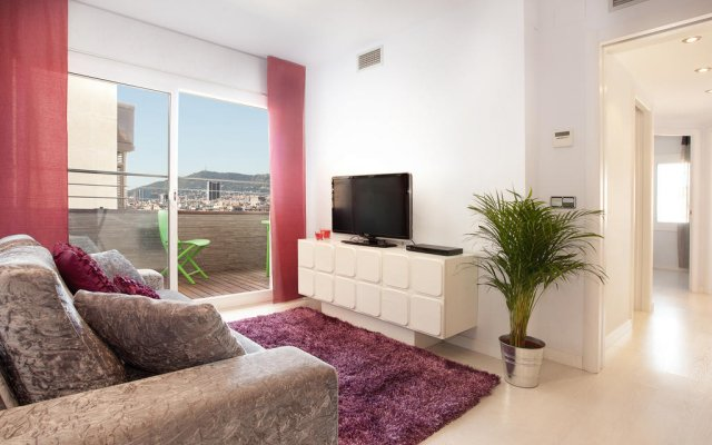 Апартаменты Click&flat Eixample Derecho Apartments Барселона комната для гостей