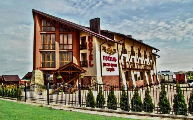Гостиница Камелот Украина, Тернополь - отзывы, цены и фото номеров - забронировать гостиницу Камелот онлайн вид на фасад