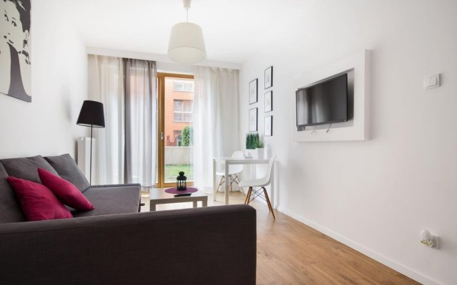 Апартаменты Exclusive Apartments Gdańsk комната для гостей