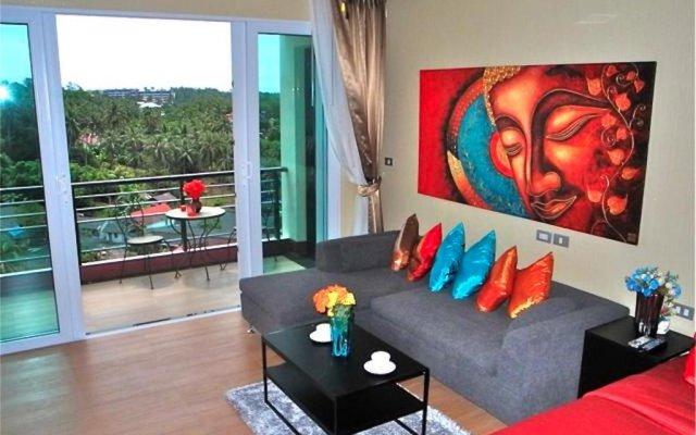 Апартаменты Sea & Sky Karon 2 bedrooms Apartment Sea View комната для гостей