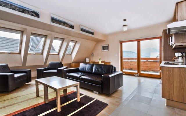 Отель Apartamenty Sun&Snow Kościelisko Budzówka Косцелиско комната для гостей