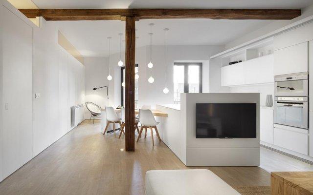 Отель Luna Apartment by FeelFree Rentals Испания, Сан-Себастьян - отзывы, цены и фото номеров - забронировать отель Luna Apartment by FeelFree Rentals онлайн комната для гостей