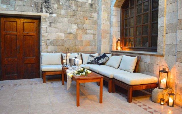 Отель Medieval Villa Греция, Родос - отзывы, цены и фото номеров - забронировать отель Medieval Villa онлайн вид на фасад