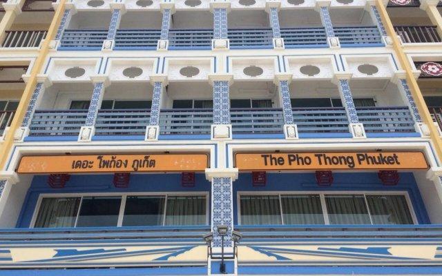 Отель The Pho Thong Phuket вид на фасад