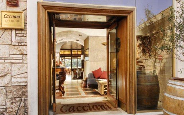Hotel Cacciani вид на фасад