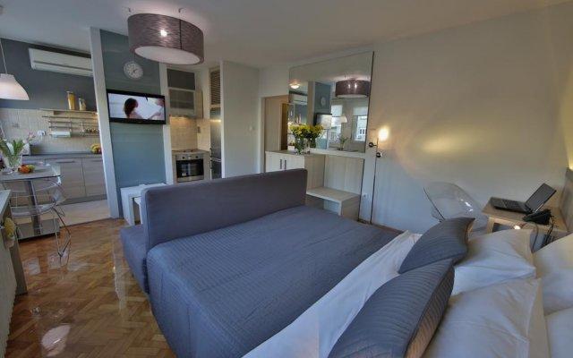Апартаменты Business & Travel Apartments комната для гостей