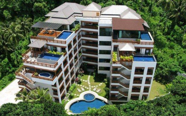 Отель Surin Sabai Condominium II Пхукет вид на фасад