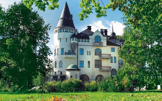 Отель Scandic Imatran Valtionhotelli Финляндия, Иматра - - забронировать отель Scandic Imatran Valtionhotelli, цены и фото номеров вид на фасад