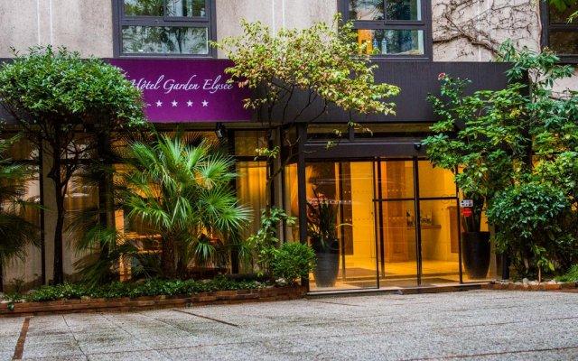 Отель Hôtel Garden Elysées вид на фасад