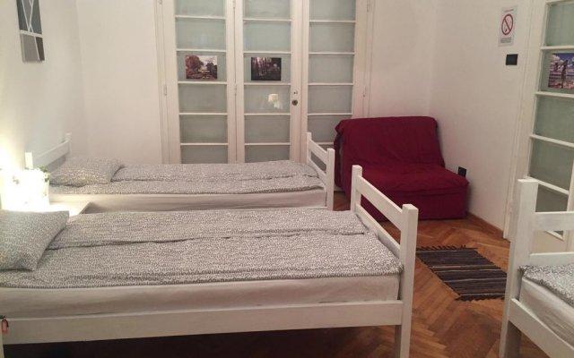 Mosaic Hostel Belgrade комната для гостей