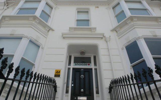 Отель Snooze - Guest house Великобритания, Кемптаун - отзывы, цены и фото номеров - забронировать отель Snooze - Guest house онлайн вид на фасад