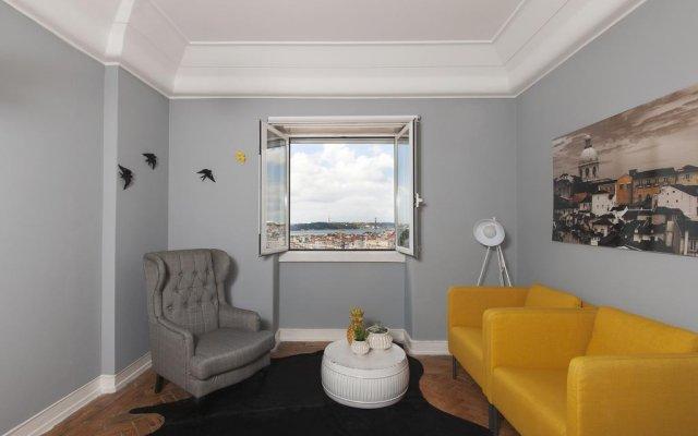 Апартаменты Graça Castle - Lisbon Cheese & Wine Apartments комната для гостей