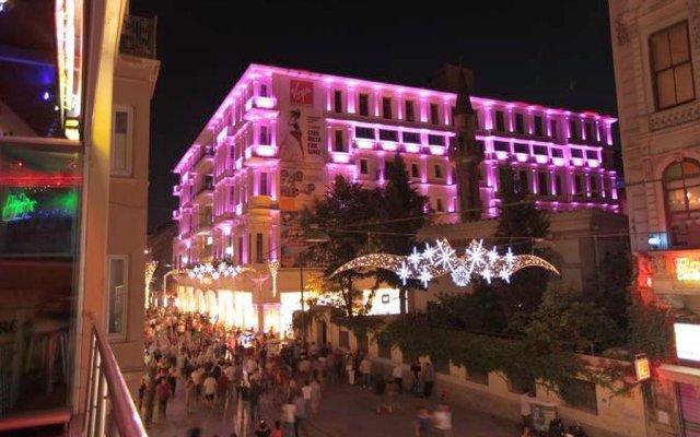 Venus Hotel Taksim вид на фасад
