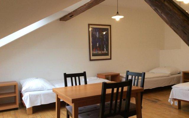 Отель Dlouha Чехия, Прага - отзывы, цены и фото номеров - забронировать отель Dlouha онлайн комната для гостей