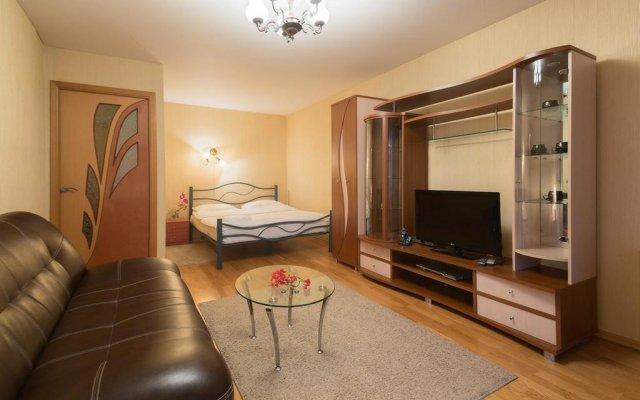 Апартаменты LikeHome Apartments Polyanka Москва комната для гостей