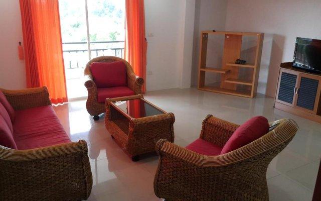 Отель Sea View Apartments Таиланд, На Чом Тхиан - отзывы, цены и фото номеров - забронировать отель Sea View Apartments онлайн комната для гостей