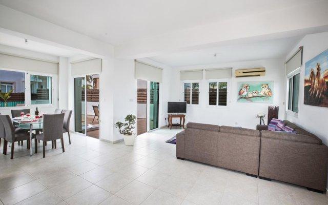 Отель Halle Villa Кипр, Протарас - отзывы, цены и фото номеров - забронировать отель Halle Villa онлайн комната для гостей