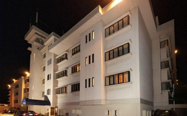 Отель Mercure The Moorhouse Ikoyi Lagos вид на фасад