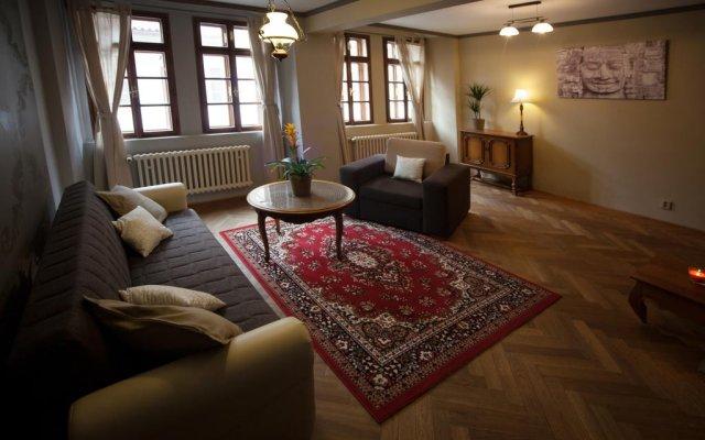 Отель ApartmÁny Nerudova 36 Прага комната для гостей