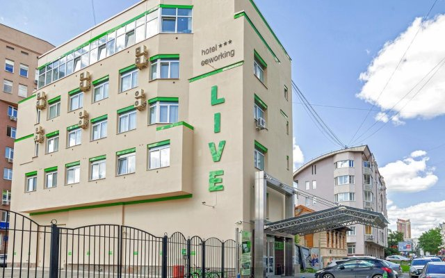 Гостиница Live вид на фасад