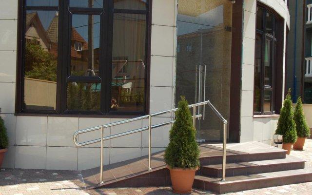 Гостиница ZARA вид на фасад