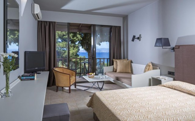 Отель Aeolos Beach Resort All Inclusive Греция, Корфу - отзывы, цены и фото номеров - забронировать отель Aeolos Beach Resort All Inclusive онлайн комната для гостей