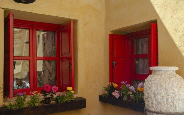 Апартаменты Elafusa Luxury Apartment Родос вид на фасад