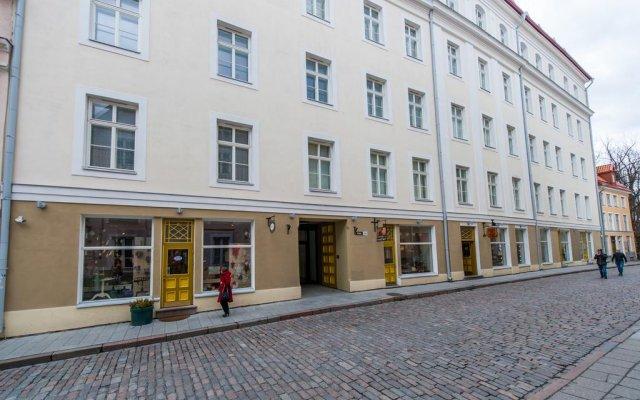 Апарт-отель Delta вид на фасад