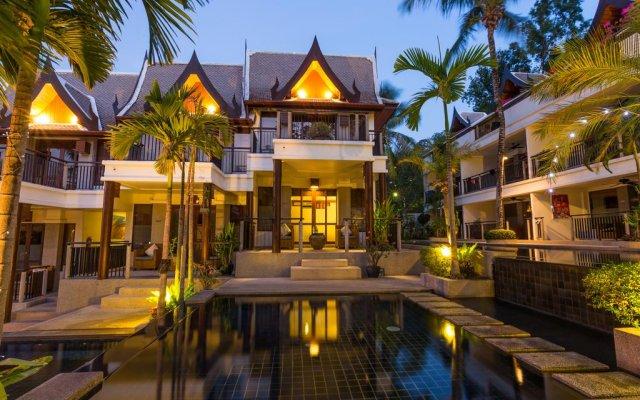 Отель Baan Yin Dee Boutique Resort вид на фасад