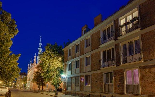 Отель Pokoje Old Town Gdańsk вид на фасад