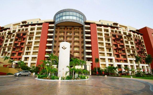Отель Villa del Palmar Cancun Luxury Beach Resort & Spa Мексика, Плайя-Мухерес - отзывы, цены и фото номеров - забронировать отель Villa del Palmar Cancun Luxury Beach Resort & Spa онлайн вид на фасад