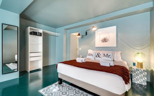Отель Sweet Inn Apartments - Temple Франция, Париж - отзывы, цены и фото номеров - забронировать отель Sweet Inn Apartments - Temple онлайн комната для гостей