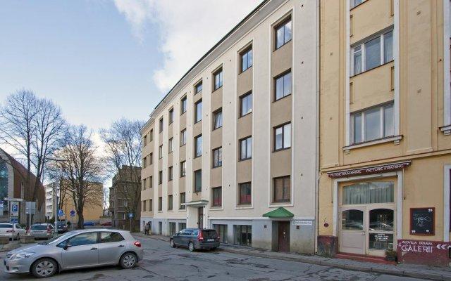 Апартаменты Aedvilja Apartment вид на фасад