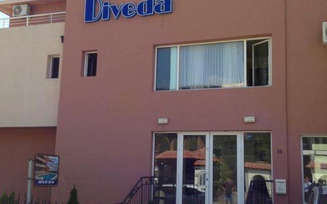 Hotel Diveda Свети Влас вид на фасад