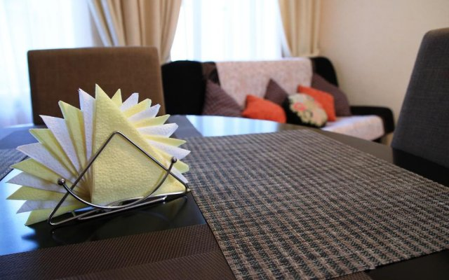 Апартаменты Apartment Stikliai комната для гостей