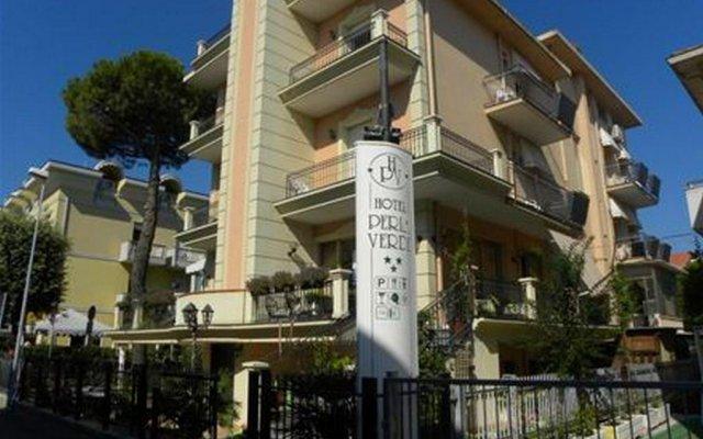 Отель Perla Verde Италия, Римини - отзывы, цены и фото номеров - забронировать отель Perla Verde онлайн вид на фасад