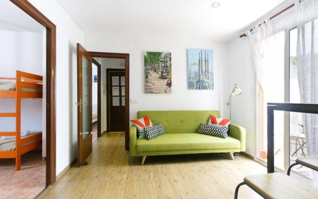 Апартаменты Apartment Montjuic комната для гостей