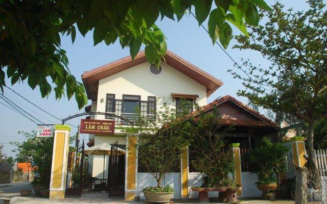 Отель Lam Chau Homestay вид на фасад