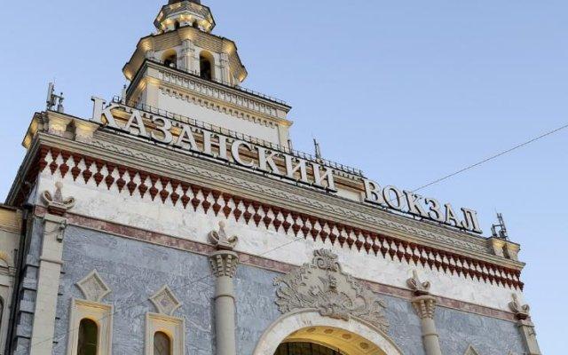Апартаменты Apartments On Krasnie Vorota вид на фасад