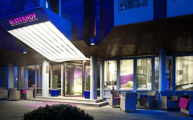 Отель Alsterhof Hotel Berlin Германия, Берлин - отзывы, цены и фото номеров - забронировать отель Alsterhof Hotel Berlin онлайн вид на фасад