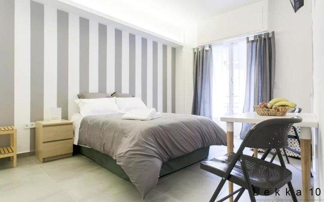 Апартаменты Lekka 10 Apartments Афины комната для гостей
