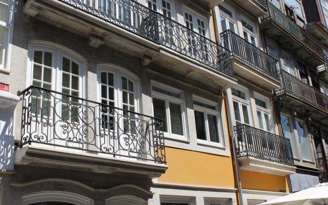 Отель Porto com História вид на фасад