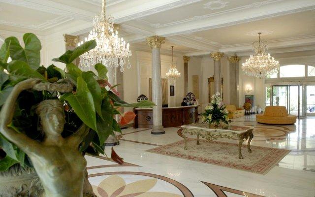Grand Hotel Rimini интерьер отеля
