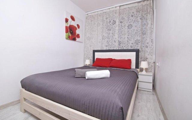 Отель Warszawa Centrum Apartament Daniella комната для гостей