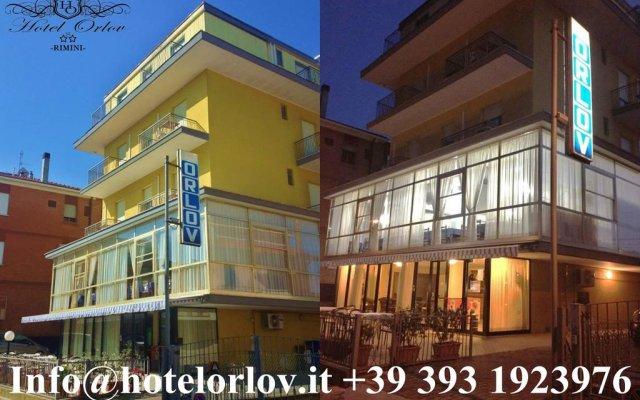 Hotel Orlov вид на фасад